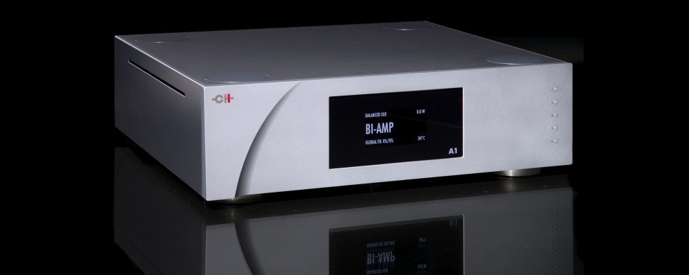 CH Precision A1 Two-channel Power Amplifier